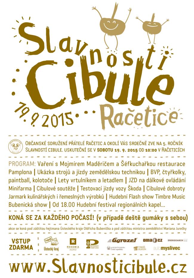 Plakát Slavnosti cibule 2015